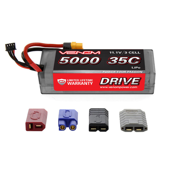 DRIVE 35C 3S 5000mAh 11.1V LiPo Hardcase Battery with UNI