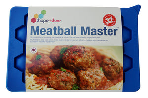 New! Meatball Master® Innovative Meatball Maker and Freezer Container