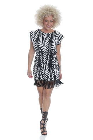 DRESS CHEVRON PLUS SIZE - LD7007P