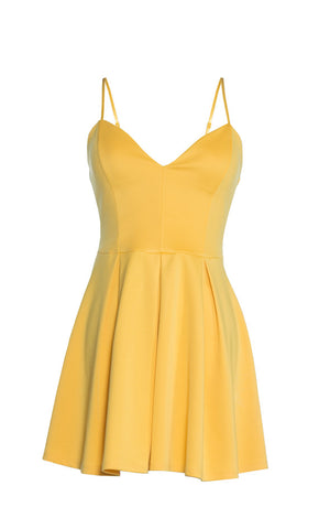 Scuba Strappy Cami Dress