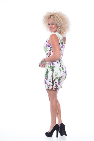Alondra Blossom Print Dress - D6096