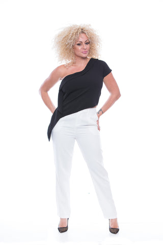 Absolut One Shoulder design top - T7507