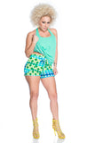 High Waisted Crossover Shorts - P131