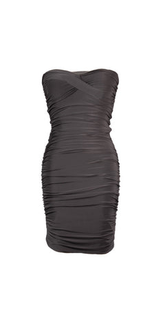 Black Strapless club dress - PD7371000