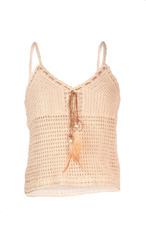 Top Cover Up Crochet -Cami Style - T6795
