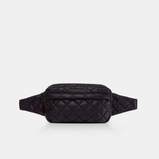 MZ Wallace Metro Belt Bag Black