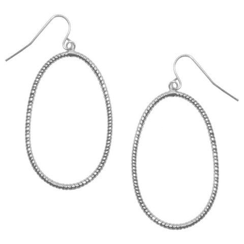 Brooke Earrings Silver