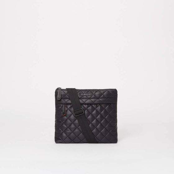 MZ Wallace Metro Flat Crossbody Black