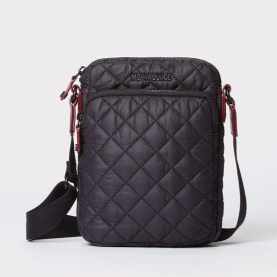 MZ Wallace Micro Metro Crossbody Black