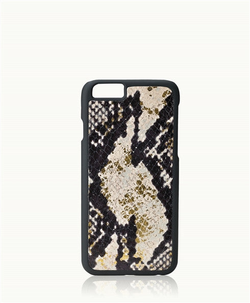 Python Hard Shell iPhone Case 6/6s Natural/Gold