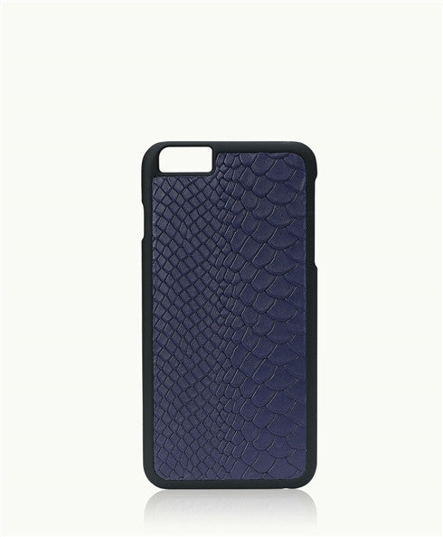 Python Hard Shell  iPhone Case 6/6S Navy