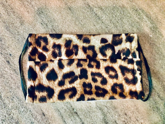 Face Cover Mask Leopard Print