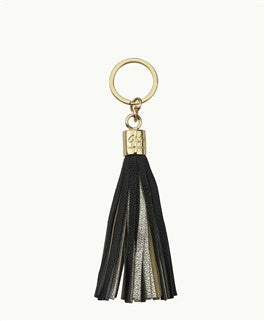 Tassel Key Chain Black