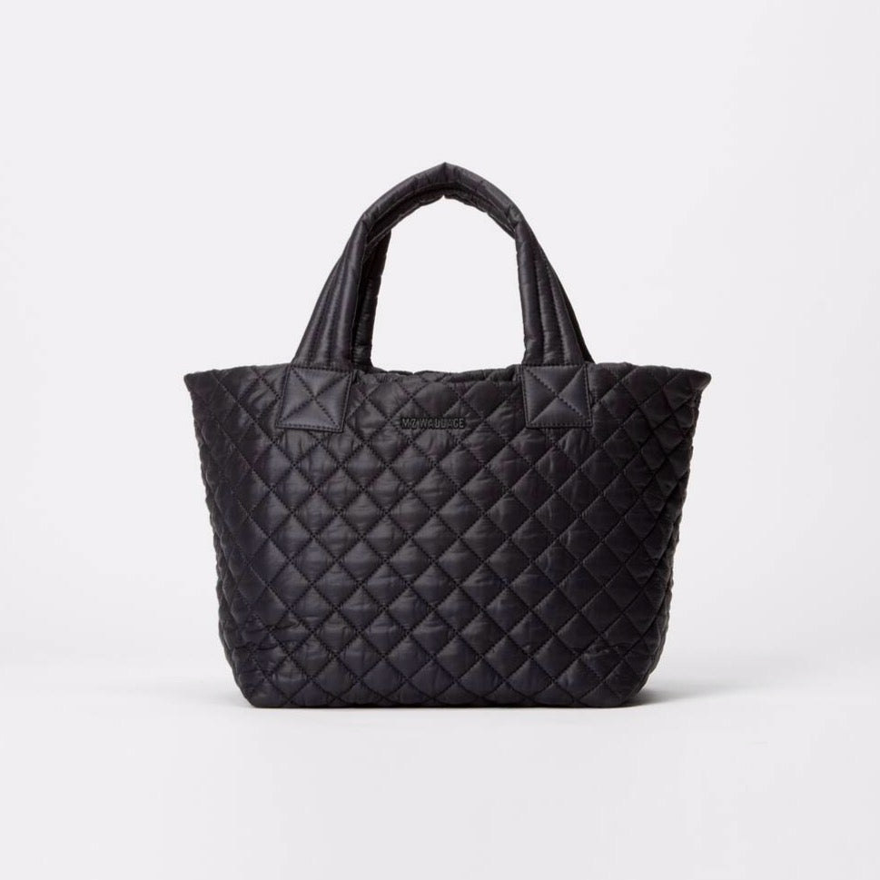 MZ Wallace Small Metro Tote Deluxe Black