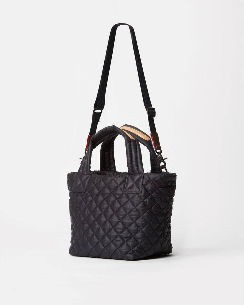 MZ Wallace Mini Metro Tote Deluxe Black