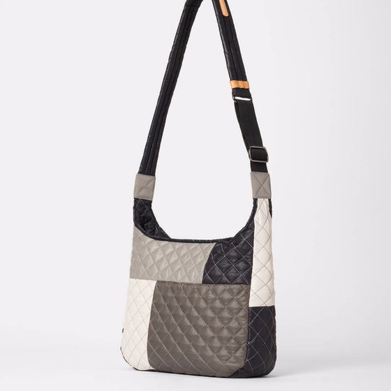 MZ Wallace Parker Grey Patchwork