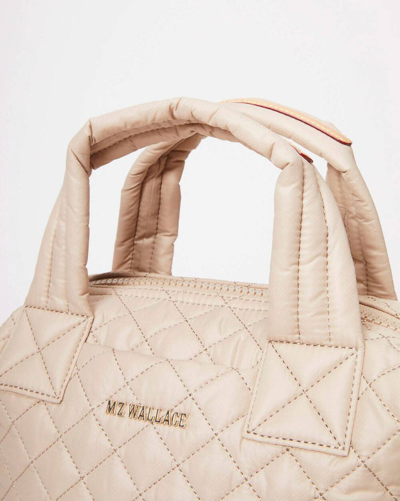 MZ Wallace  Small Sutton Deluxe Sesame