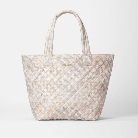 MZ Wallace Medium Metro Tote Deluxe Basket Weave