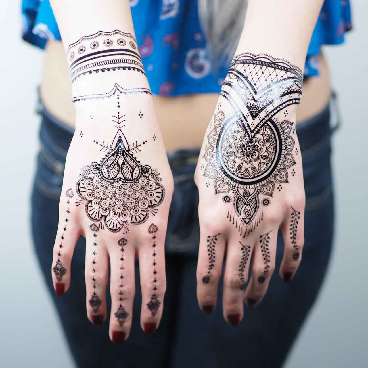 Black Henna Tattoos 2 Trends And Gems