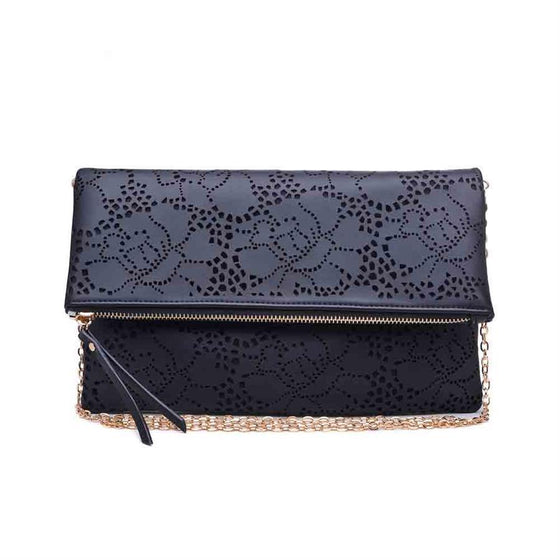 Locket Clutch Black