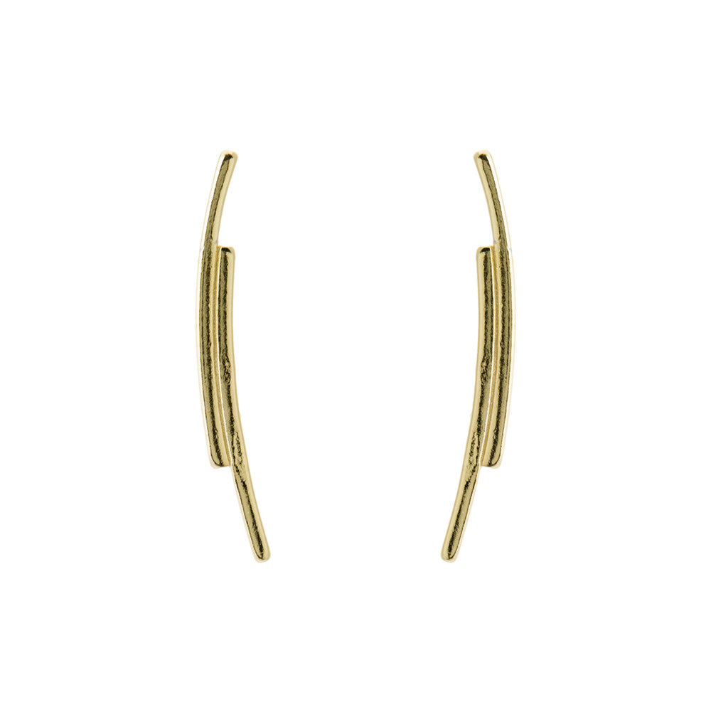 Curved Bar Climber Gold