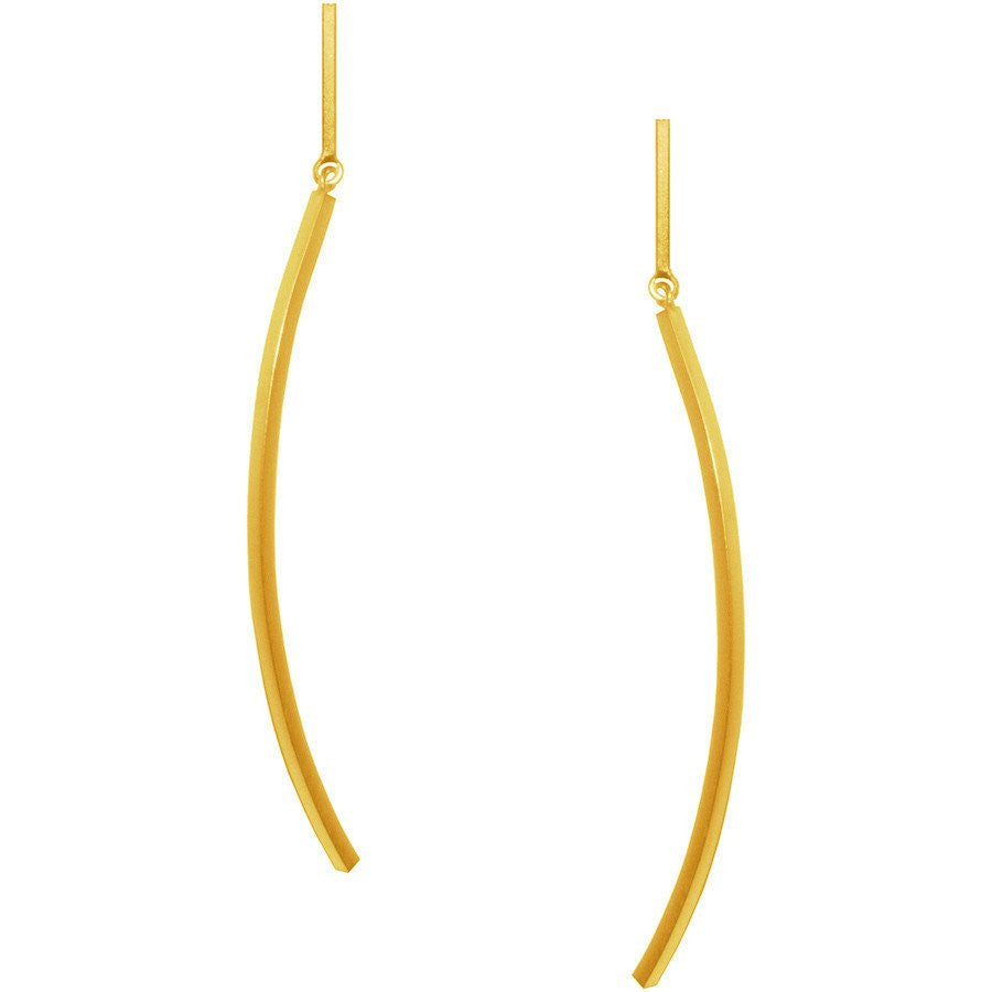 Magalie Earrings Gold