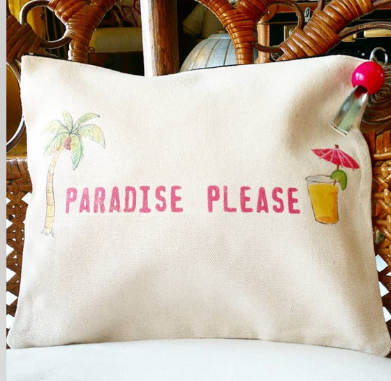 Paradise Please Pouch