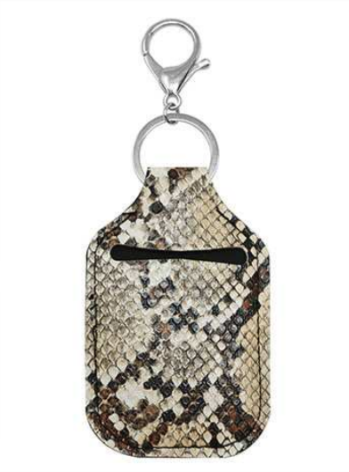 Sanitizer Pouch Natural Snake