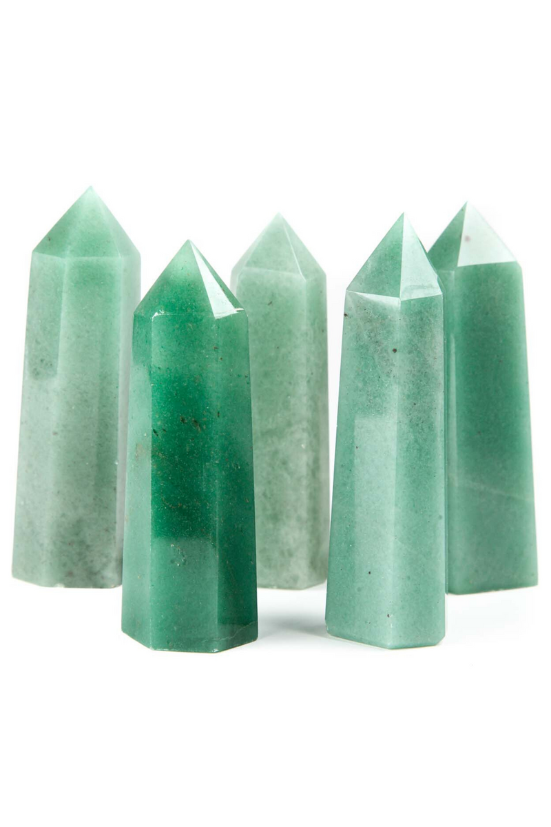 Aventurine Crystal Point - Apothecary Co.