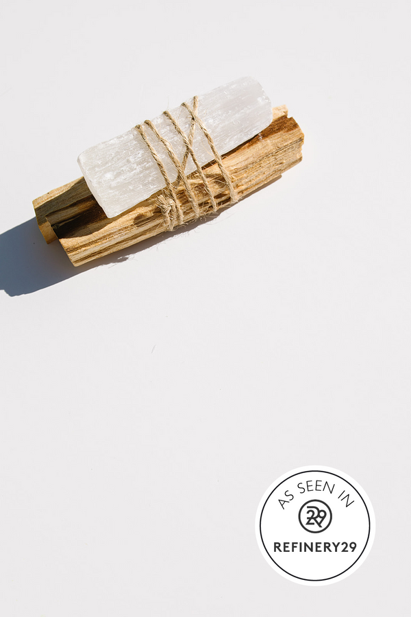 PALO SANTO + SELENITE Bundle - Apothecary Co.