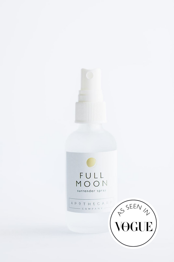 FULL MOON Surrender Spray - Apothecary Co.