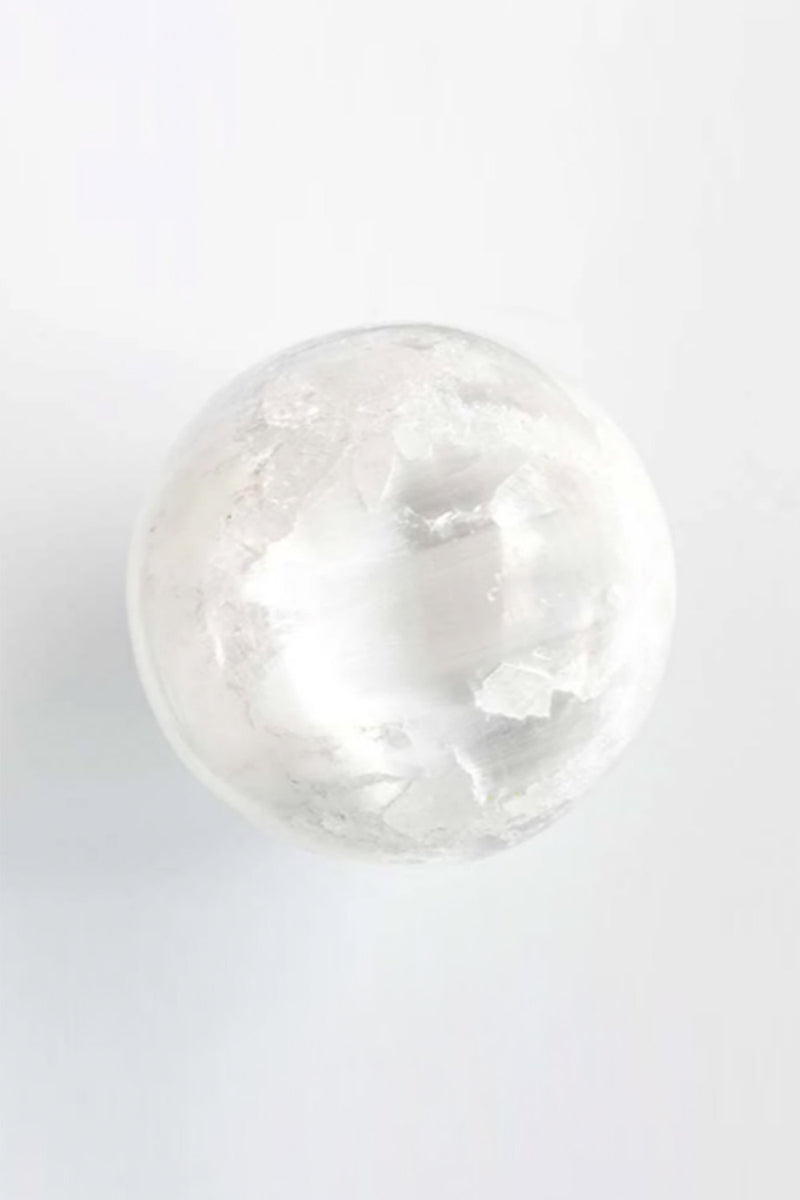 Selenite Sphere - Apothecary Co.