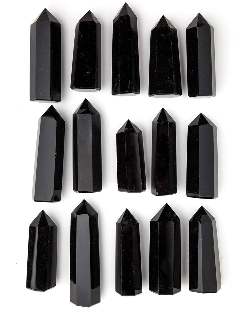 Black Obsidian Point