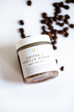 COFFEE + VANILLA SUGAR Body Polish - Apothecary Co.