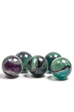 Rainbow Fluorite Crystal Sphere - Apothecary Co.