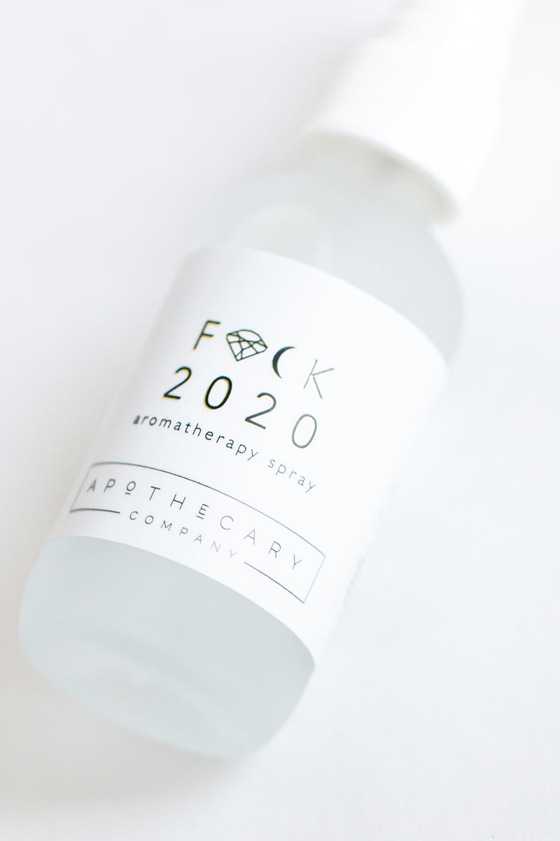 F&@k 2020 Aromatherapy Spray - Apothecary Co.