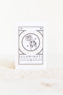ILLUMINATI Brightening Glow Mask - Apothecary Co.