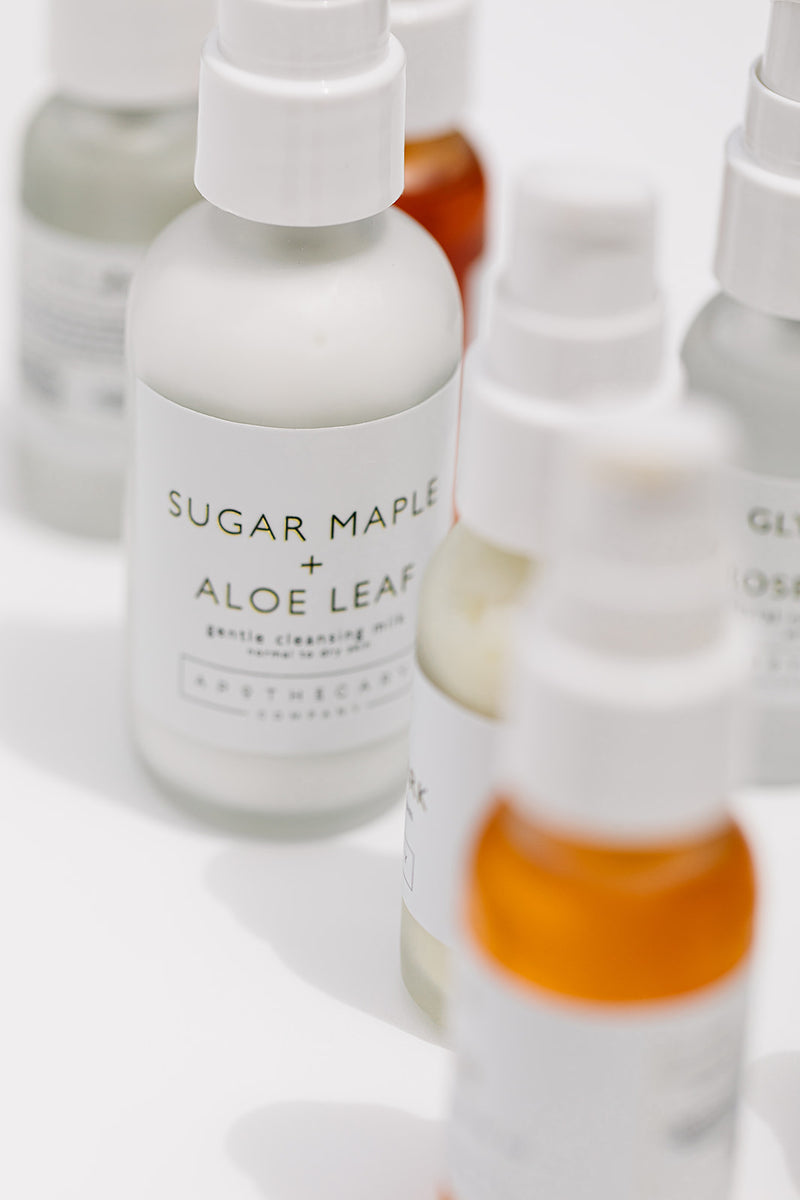 Sugar Maple + Aloe Leaf Gentle Cleansing Milk - Apothecary Co.