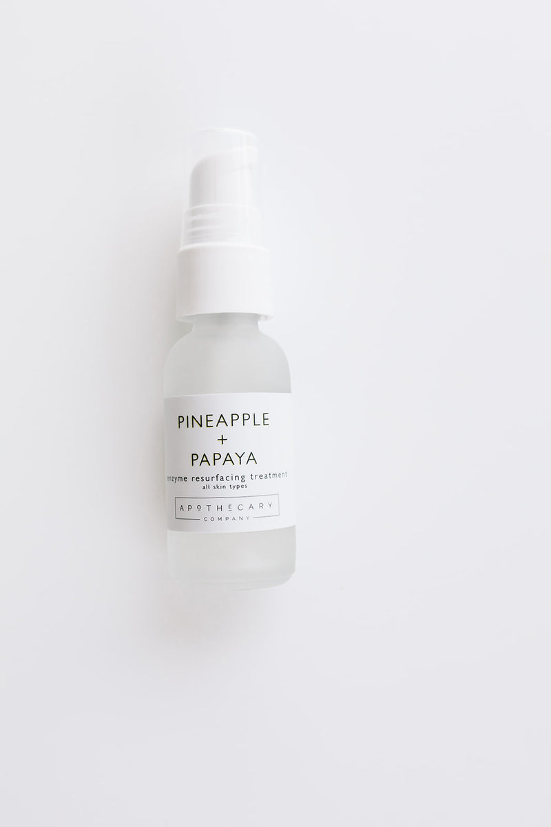 Pineapple + Papaya Enzyme Resurfacing Treatment - Apothecary Co.