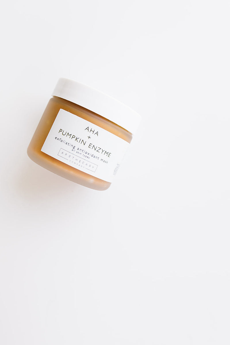 AHA + Pumpkin Enzyme Antioxidant Exfoliating Mask - Apothecary Co.
