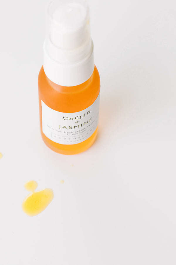 CoQ10 + Jasmine Intense Hydration Facial Oil - Apothecary Co.