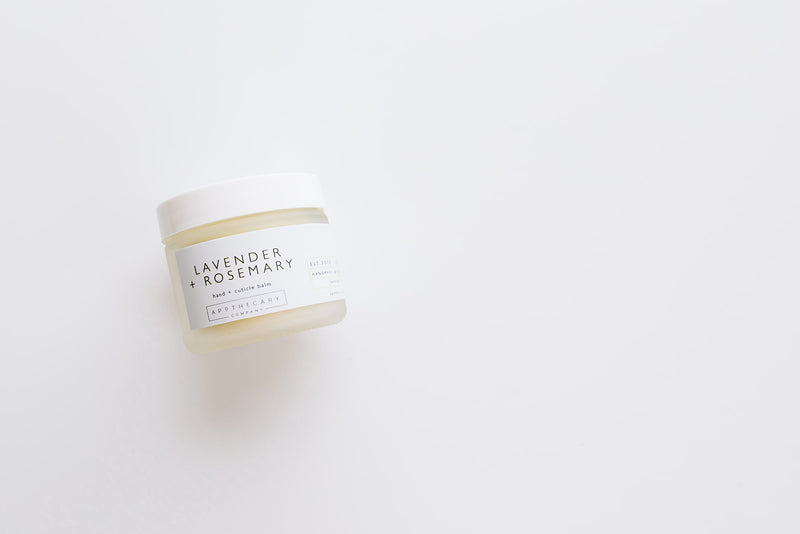 LAVENDER + ROSEMARY Hand and Cuticle Balm - Apothecary Co.