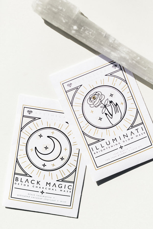 Black Magic Detox Charcoal Mask | Apothecary Co.