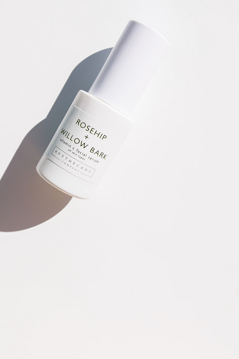 Rosehip + Willow Bark Vitamin C Facial Serum - Apothecary Co.
