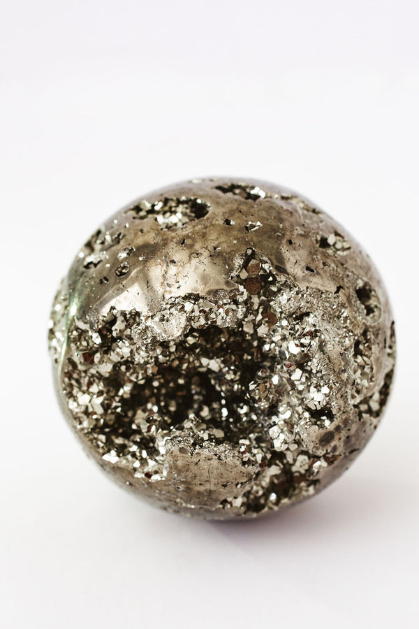 Pyrite Crystal Ball - Apothecary Co.