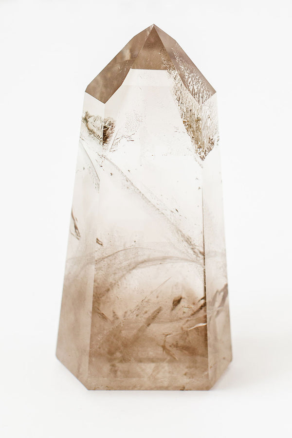 Smoky Quartz Generator Point - Apothecary Co.