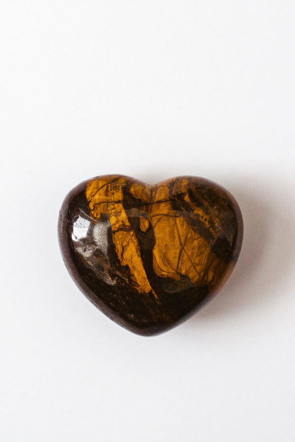 Tiger's Eye Heart - Apothecary Co.