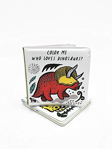 Color Me - Who's Loves Dinosaurs? - Brambler Boutique