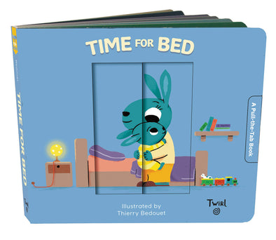 Time for Bed: A Pull-the-Tab Book - Brambler Boutique