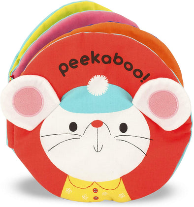 Peekaboo Mouse - Soft Activity Book - Brambler Boutique